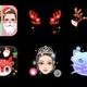 BIGO LIVE アプリ内でクリスマス限定の顔認証スタンプがリリース!