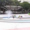子連れお出かけ 駒沢公園じゃぶじゃぶ池で水遊び