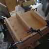 糸鋸盤のスタンド制作 その1