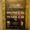 マーラー第五番、モーツァルトピアノ協奏曲25番×Honeck@CSO1/25/2018