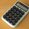 メカニカルキーの電卓