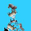 動物積み上げ力を競うスマホ対戦ゲーム『どうぶつタワーバトル』をプレイ