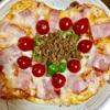 親子料理!ピザを作りました。