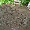 ボカシ肥の移動で発酵が順調に・・・