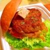 チーズカレーオニオンハンバーガー