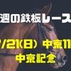 【今週の鉄板レース②】7/21(日) 中京記念(GⅢ)〜リーマンブロガーの小遣い稼ぎ大作戦〜  タイムアタックチャレンジ