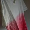 新しい服を買いました。赤いグラデーションの掛かったTシャツを買ったので、着てどこかに出かけてみたいです。
