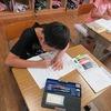 1年生:「まなびのとも」を使って勉強