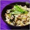 沖縄料理の宴 オマケ:フーチバークファジューシーとジューシー翌日ごはん|焦がし醤油のクファジューシー焼き飯