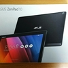 ASUSのZenPad10(ローズゴールド)を購入しました!