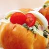 バターロールサンド(野沢菜入りポテトサラダ)