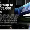 今週の金融は何がおきるのか。シティの人員削減と、今週の指数