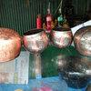 バーンバットコミュニティー(タイ僧侶の托鉢用ボウル職人の町)