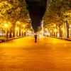 夜の散歩でスナップ撮影【M.ZUIKO DIGITAL 25mm F1.8】