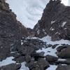 乾徳山旗立岩