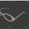 Blender 2.8でモデリングする レンダリング応用編 その1(レンズ部分の作成)