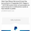 【雑記】Paypal(support@paypal.com)を語った詐欺メール