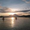 朝陽を浴びながらカヤック体験