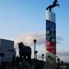 北海道新冠町 レコードと馬の町