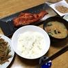 赤魚のみりん干し・炊き込みご飯、豚汁