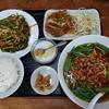 青椒肉絲に油淋鶏、台湾ラーメンまでの嬉しいセットを頂きます @東金 台湾料理海林