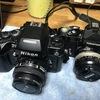 男子のカメラ