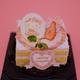 ハローキティ45周年アニバーサリーケーキ@サンリオピューロランド