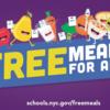 ニューヨーク市 無料食事提供サービスについて