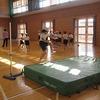 4年生:体育 走り高跳び