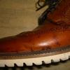 雨の日に分かる革靴の染み込み感の話
