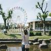 5月2日 町の遊園地へ行った