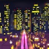(仮)完成。都会の夜景!! Urban night view! It is! Completion