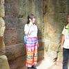 【カンボジア女子一人旅】願い事が響く?!遺跡の不思議なスポット♪