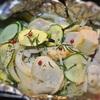 鶏ムネ肉のローズマリー、あらびきガーリックのマリネのホイル包み焼き