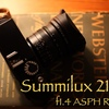 Summilux 21mm f1.4 ASPH レビュー