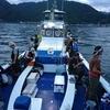 沼津湾内 タチウオ、サーベルテンヤ試し釣り IN 沼津港 秀丸