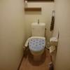 【マイホーム】トイレに、マットもスリッパもなし。