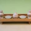 神具の置き方 長三宝一尺とセトモノ豆・小・中・大サイズ 大きさ比較