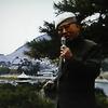 犬養孝先生、鞆の浦で 旅人の歌を朗唱