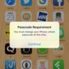 動作トラブル | iPhone6 iOS9.3.2で突然パスコード変更要求が現れた(解消済み)
