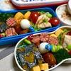 子ども達弁当~鶏胸肉の味覇焼き・カボチャの煮物・だし巻き~