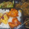 「琉花」の「マーボーナス・唐あげ(日替わり弁当)」300円 #LocalGuides