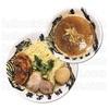 濃厚鷹虎つけ麺を腹いっぱい麺屋武蔵鷹虎で満悦する。