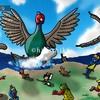鳥イラスト:徳用キジ