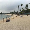シンガポールで泳げるビーチ!?【水質は微妙】