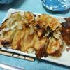 今日の晩飯 焼き餃子を作ってみた