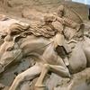 鳥取砂丘 砂の美術館①