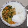 ゴーヤと鶏皮のカレーのレシピ