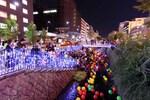 風船5000個が札幌・創成川を彩る、創成川キャンドルストリーム2019!