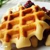 【5分でできる!】ホットケーキミックスでベルギーワッフル!イーストなしで混ぜるだけ簡単!
